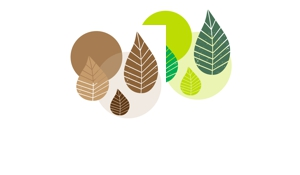 Graphic Leaves Party-Set