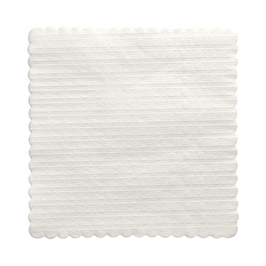 Dessertdeckchen 17 x 17 cm weiss - Bild 2