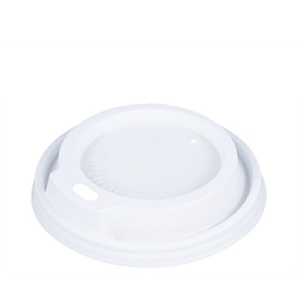 Dom-Deckel, PS rund Ø 8 cm · 1,8 cm weiss - Bild 1
