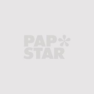 Mokkadeckchen oval 26 cm x 20 cm weiss - Bild 1