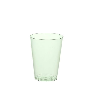 Plastikbecher (PS) 0,2 l Ø 7,5 · 9,7 cm hellgrün - Bild 1